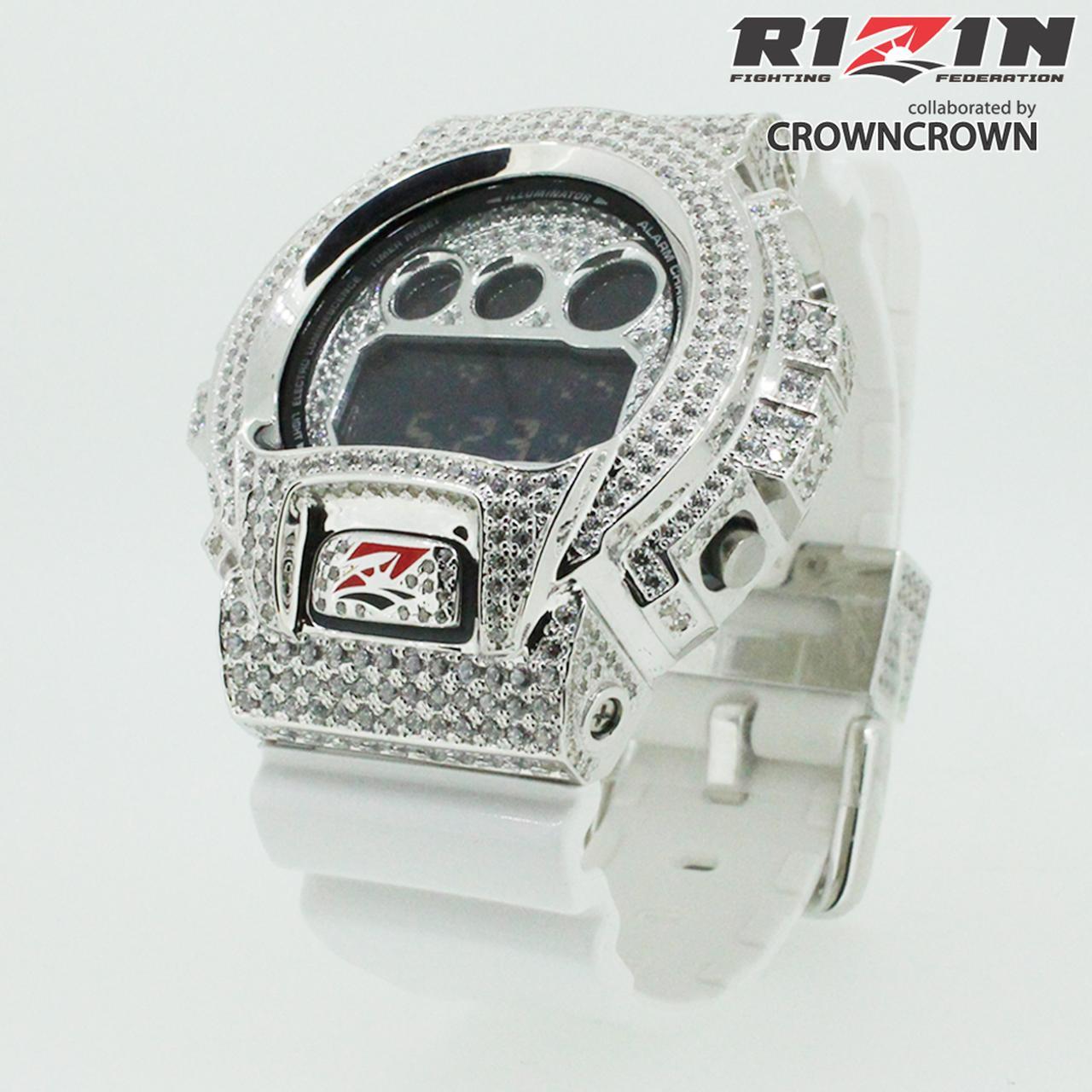 画像1: RIZIN G-SHOCKカスタム時計とRIZIN特製ネックレスが販売決定!
