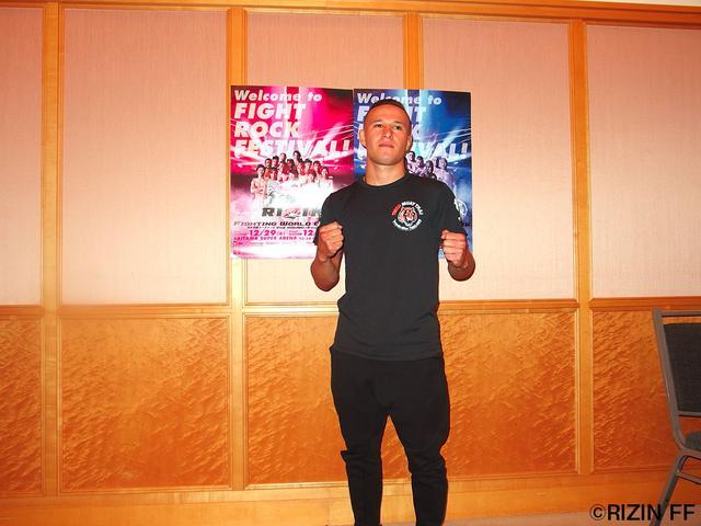 画像: 「日本は格闘技の中心の国だと思っています。夢がかなったという感じです」