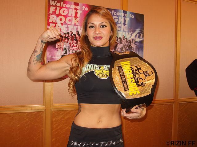 画像: 「私はボクシングが彼女より強いので、それで勝ちたいと思います」