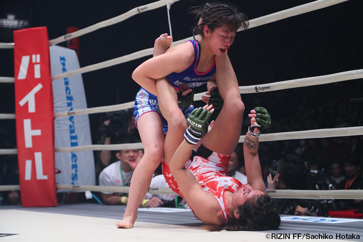 画像3: 第3試合 浅倉カンナ vs. アリーシャ・ガルシア(試合結果詳細) Cygames presents RIZIN FIGHTING WORLD GP 2016 無差別級トーナメント 2nd ROUND