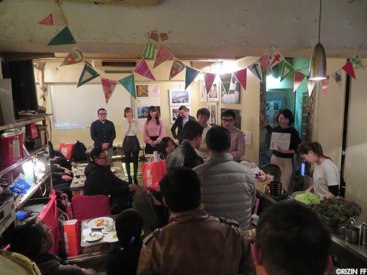 画像4: [イベント]RIZIN 新春スペシャル年始会 開催レポート