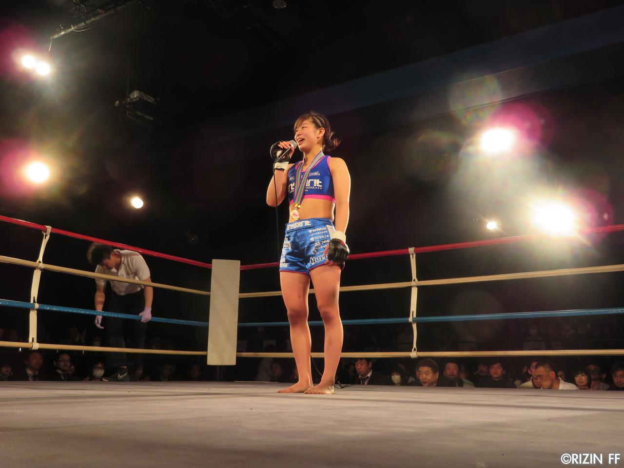 画像5: DEEP JEWELS「4月のRIZIN、チャンスください!」高校生活最後の試合で浅倉カンナが鮮やかな一本勝ち!