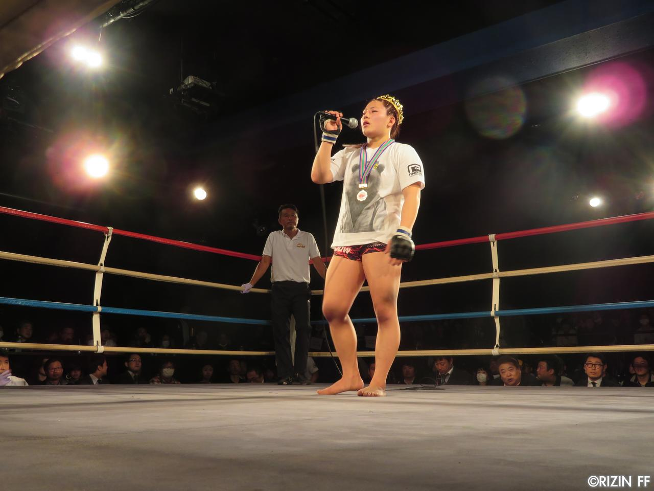 画像3: DEEP JEWELS「4月のRIZIN、チャンスください!」高校生活最後の試合で浅倉カンナが鮮やかな一本勝ち!