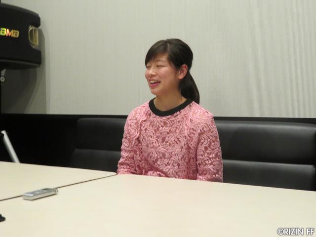 画像1: [インタビュー]浅倉カンナ、RIZIN女子グランプリは絶対出たい宣言!