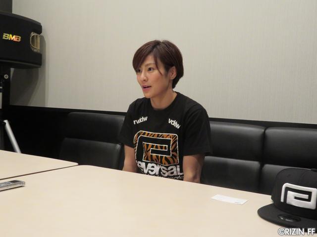 画像4: [インタビュー]石岡沙織、MMAルールでRENAにリベンジを志願!