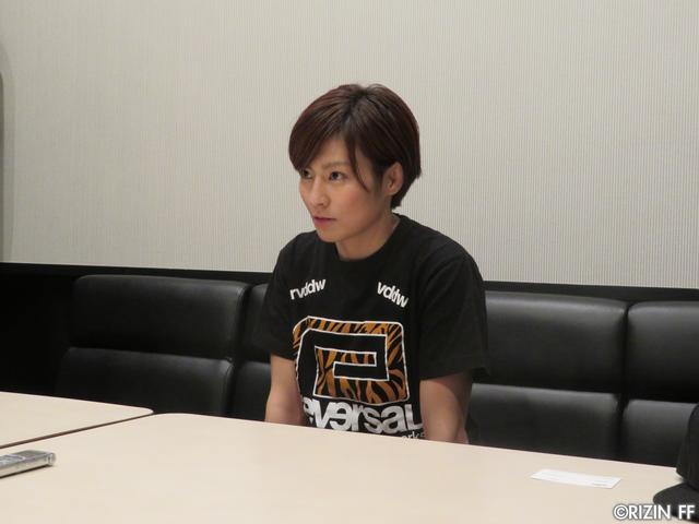画像2: [インタビュー]石岡沙織、MMAルールでRENAにリベンジを志願!