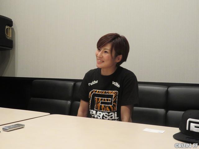 画像3: [インタビュー]石岡沙織、MMAルールでRENAにリベンジを志願!