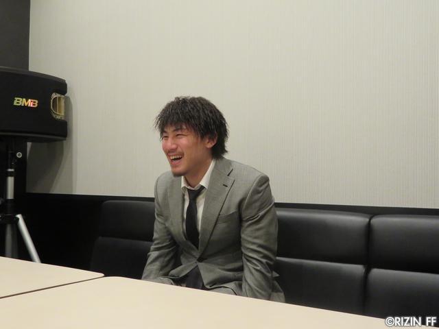画像1: [インタビュー]矢地祐介、「クルックシャンクはRIZINをナメてる、ちゃんと仕上げて来い」と一喝!