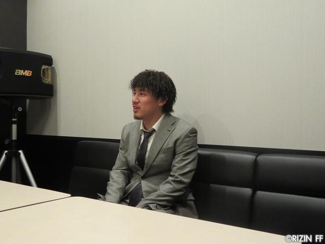 画像2: [インタビュー]矢地祐介、「クルックシャンクはRIZINをナメてる、ちゃんと仕上げて来い」と一喝!