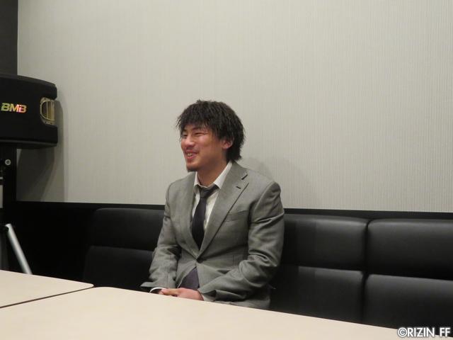 画像3: [インタビュー]矢地祐介、「クルックシャンクはRIZINをナメてる、ちゃんと仕上げて来い」と一喝!