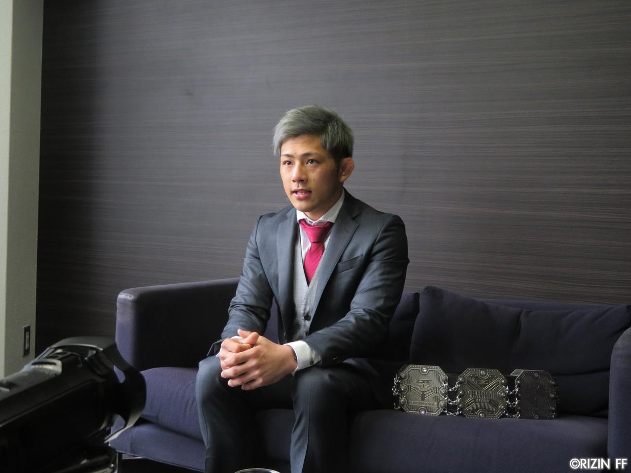 画像1: [インタビュー]念願のRIZIN初参戦! 第3代ZSTフライ級王者・伊藤盛一郎がRIZINを盛り上げる!!