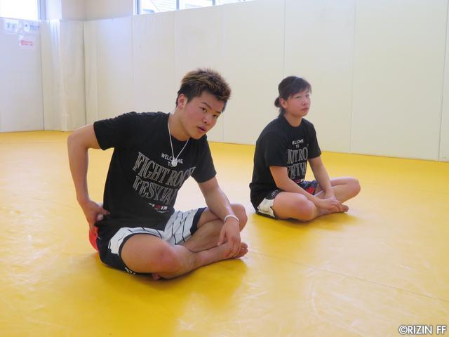 画像5: 大会直前! 那須川天心&浅倉カンナが公開練習!!