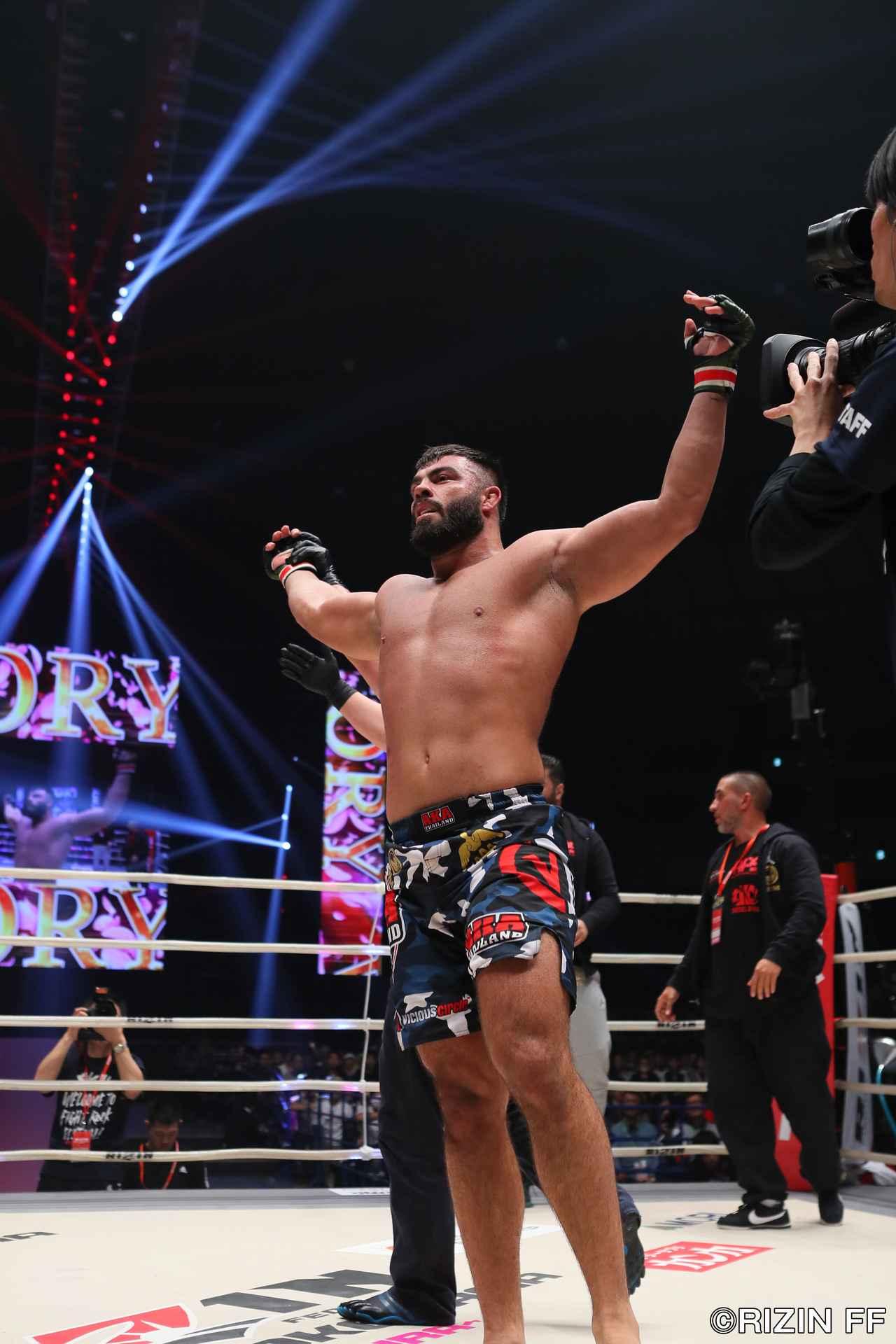 画像4: 昨年RIZIN無差別級トーナメントのファイナリスト、アミール・アリアックバリが今年もRIZINで大暴れ。MMA56戦のベテラン&タフネスファイター、ジェロニモ・ドス・サントスと対戦する。
