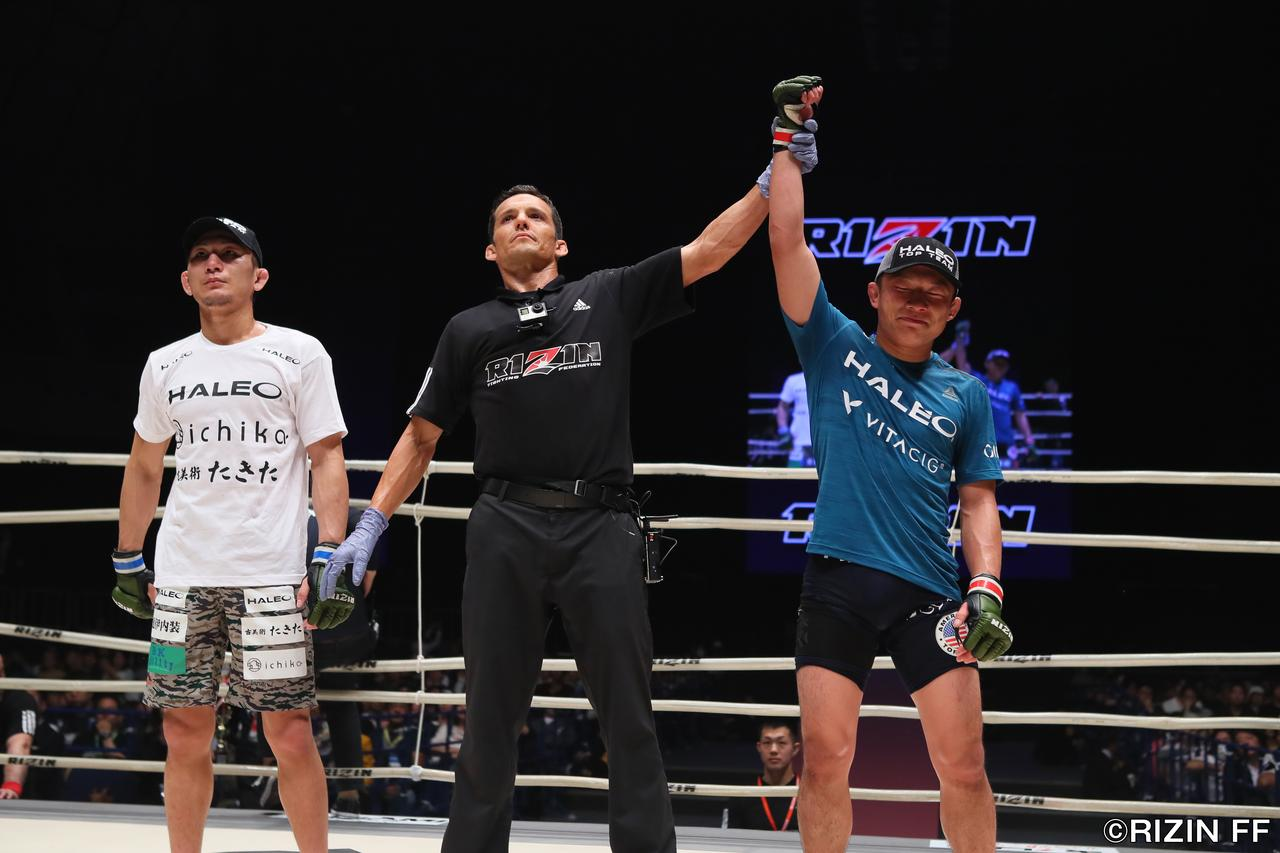 画像6: UFCトップ戦線で活躍していた堀口恭司がRIZIN電撃参戦! 日本フライ級最強の元谷友貴といきなりの頂上決戦!