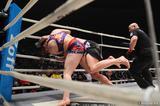 画像2: ウワサのKINGレイナがついにRIZIN登場! 昨年大晦日の堀田祐美子vsギャビ・ガルシア戦後にいきなりリングインし、ギャビとの対戦をぶち上げたジャジー・ガーベルトと対戦する。