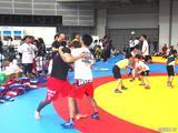 画像12: リオ五輪銀メダリストの太田忍が200人のちびっこたちにレスリングを指導!第2回RIZINレスリングキャンプ大盛況!!