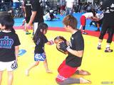 画像11: リオ五輪銀メダリストの太田忍が200人のちびっこたちにレスリングを指導!第2回RIZINレスリングキャンプ大盛況!!