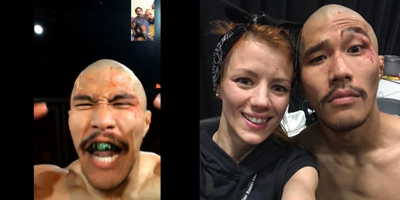 画像2: [試合結果]山本アーセン選手「King of the Cage」にて、1ラウンドTKO勝ち!