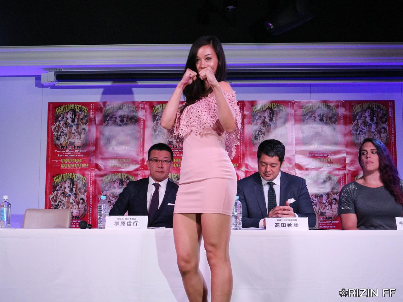 画像2: 野沢直子の長女、真珠・野沢オークライヤーが7・30RIZINでデビュー決定! ギャビはザンビディスをKOした女と対戦! 7・30RIZINさいたま大会追加対戦カード発表!!