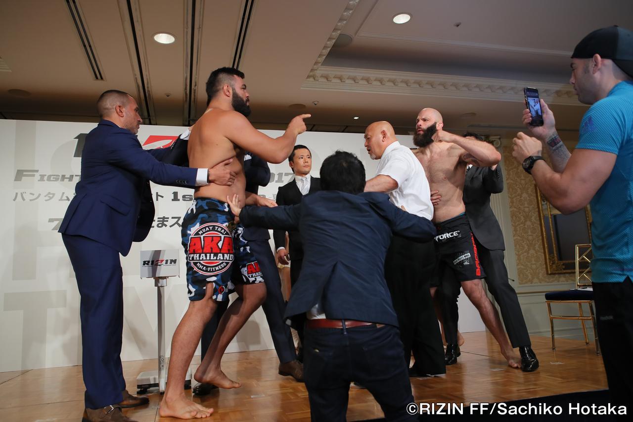 画像2: 7・30『RIZIN FIGHTING WORLD GRAND-PRIX 2017 バンタム級トーナメント 1st ROUND –夏の陣-』公式計量結果