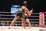 画像3: 第8試合 KINGレイナ VS. レイディー・タパ(試合結果詳細)RIZIN FIGHTING WORLD GRAND-PRIX 2017 バンタム級トーナメント 1st ROUND -夏の陣-