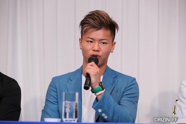 画像6: 7.30『RIZIN FIGHTING WORLD GRAND-PRIX 2017 バンタム級トーナメント 1st ROUND -夏の陣-』一夜明け会見 堀口「もっとRIZINを盛り上げていく」