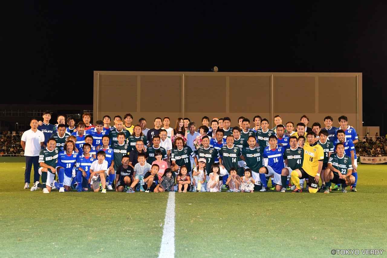 画像5: 「錦秀会グループpresents 永井秀樹引退試合 premium dream last match『OBRIGADO NAGAI』」にサッカー界のレジェンドたちが集結! RIZINロゴ入りユニフォームを着用