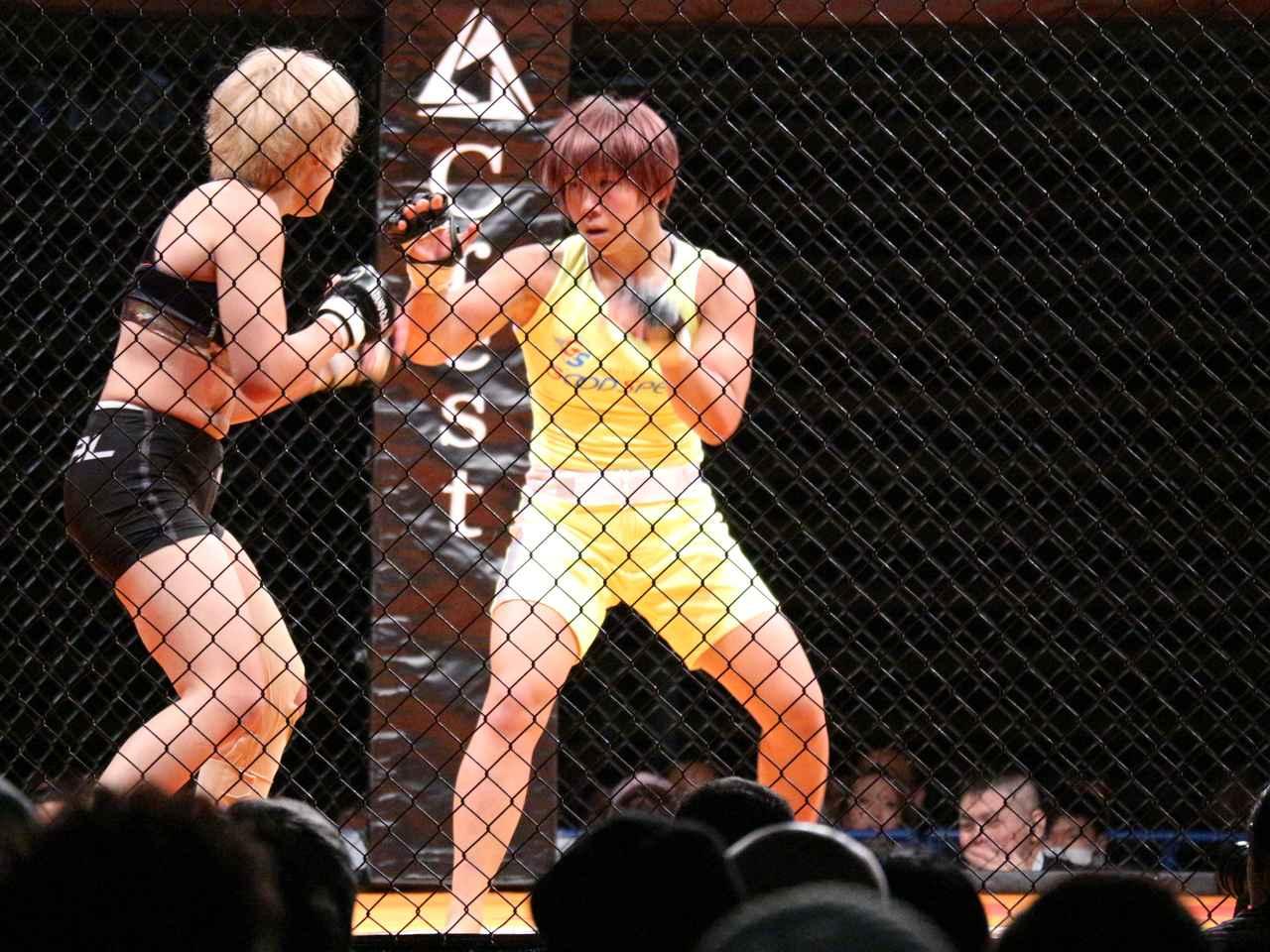 画像1: DEEP初参戦・村田夏南子、判定勝利! KINGレイナは一本勝ち!