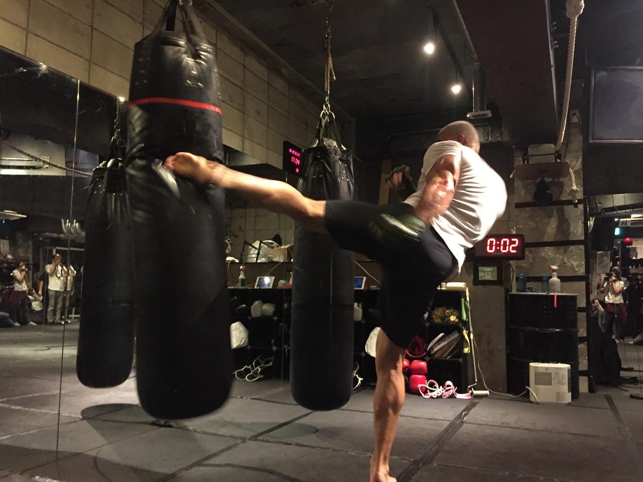 画像1: ジェロム・レ・バンナ&KINGレイナが公開練習!