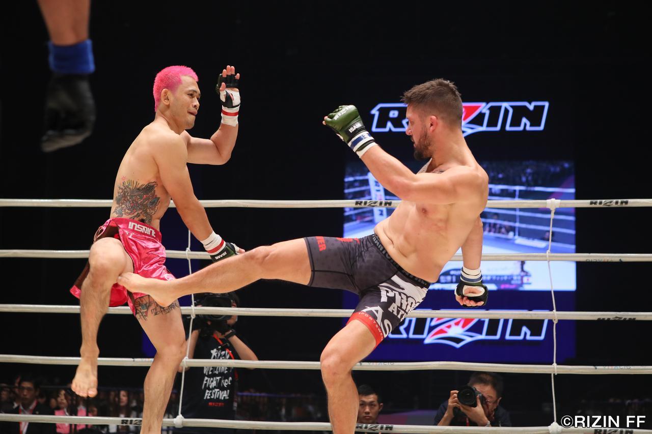 画像1: ウィッキーに敗れるも、MMAでの進化を見せたアンディ・サワー!