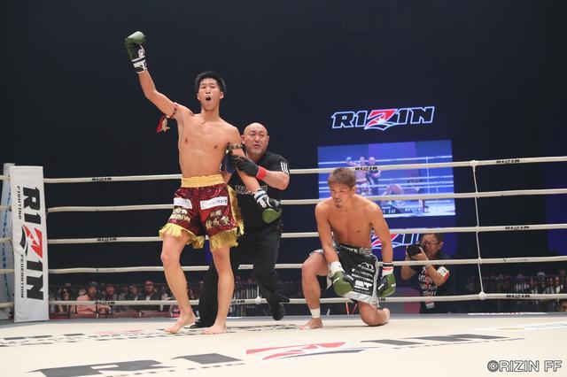 画像1: MMA参戦も目論む森本が強打でTKO勝利!