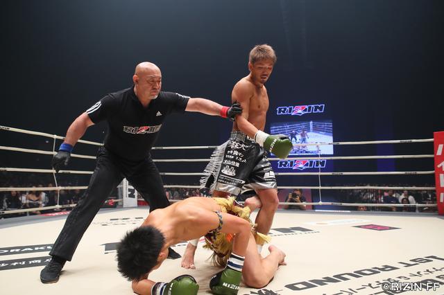 画像3: MMA参戦も目論む森本が強打でTKO勝利!