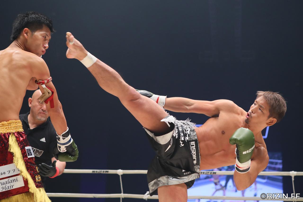 画像2: MMA参戦も目論む森本が強打でTKO勝利!