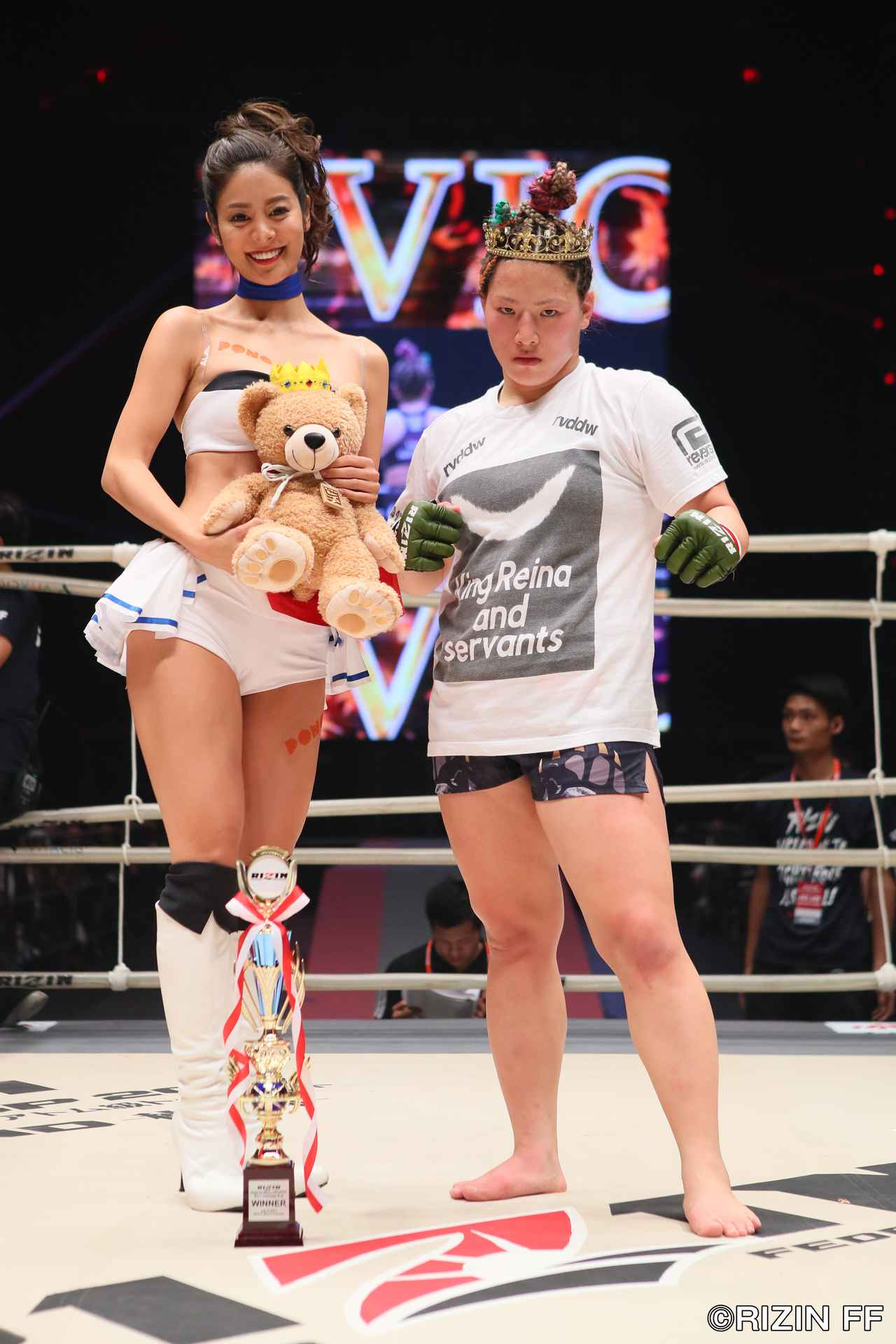 画像3: KINGレイナ、MMAデビュー戦の相手に「微妙な試合」!