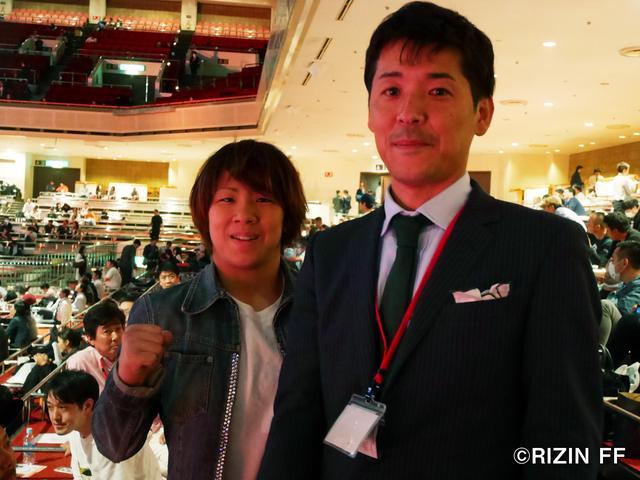 画像: 村田選手はサプライズで参加!