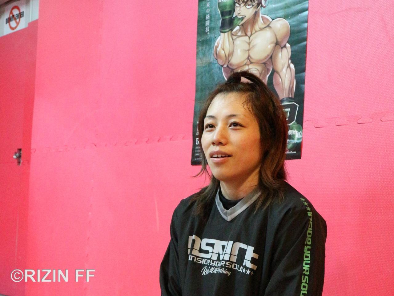 画像2: 【公開練習】浜崎朱加が公開練習! 「絶対に一本決めて勝ちたい」