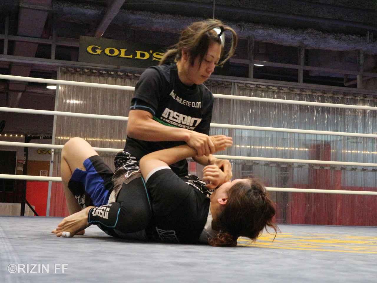 画像1: 【公開練習】浜崎朱加が公開練習! 「絶対に一本決めて勝ちたい」