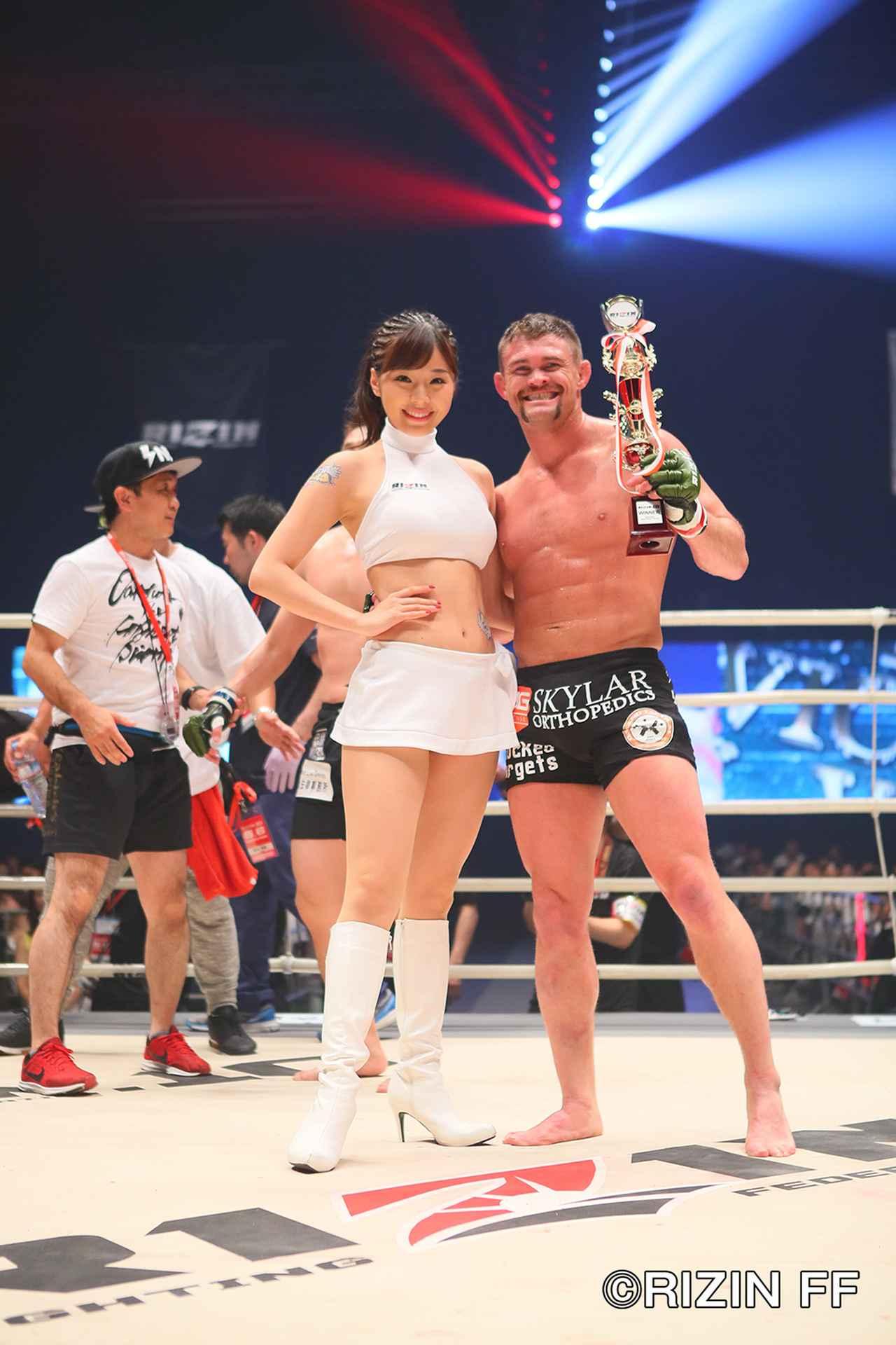 画像7: 松本を襲った戦慄の左ハイキック! クルックシャンクが一撃KO勝ち!!