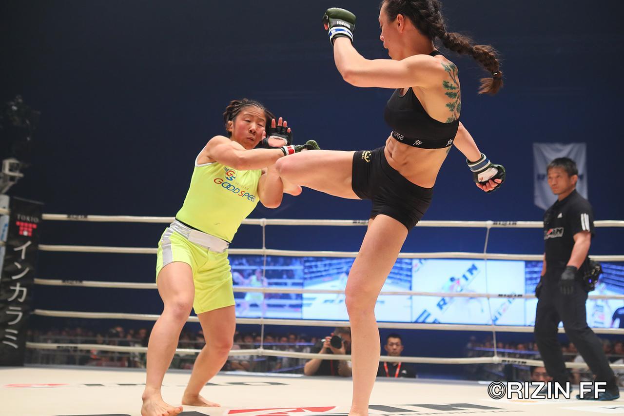 画像3: 村田が見事な一本勝ちで復帰戦勝利! 「もっともっと強くなって戻って来る」