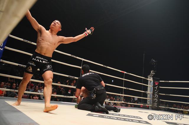 画像5: 堀口がとんでもない歴史的秒殺勝利! そして那須川天心に対戦をアピール!!