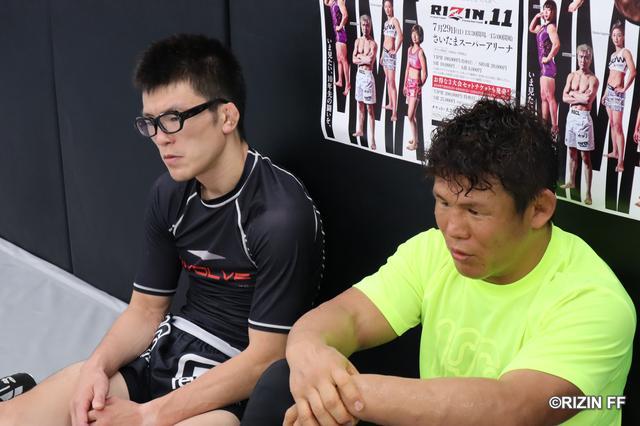 画像4: 【公開練習】『RIZIN.11』北岡悟が公開練習!!