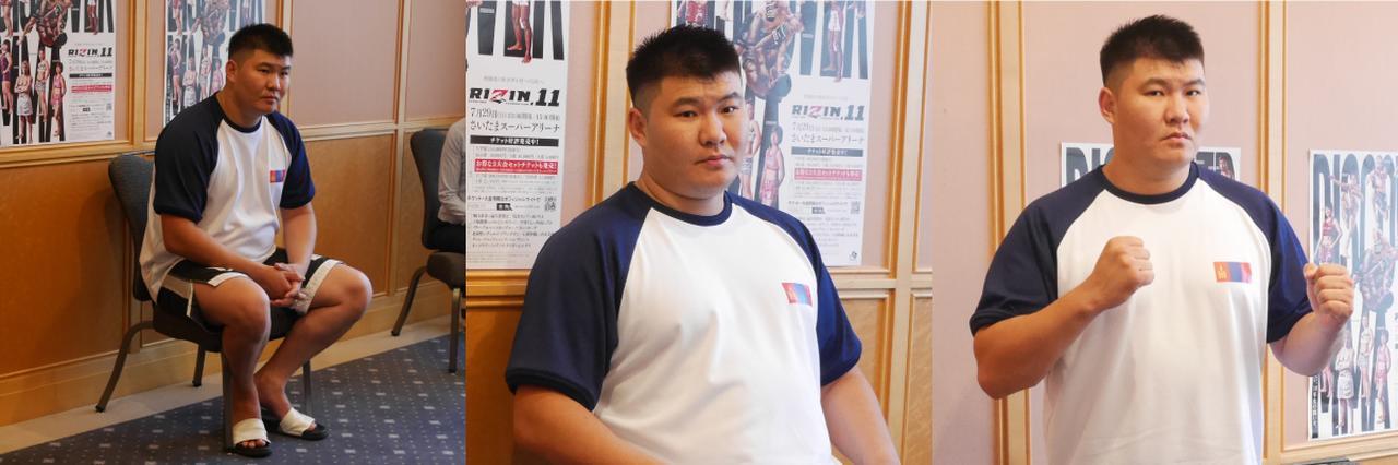 画像: 「朝青龍さんからは『モンゴル国を代表してがんばってくれ』と言われました」