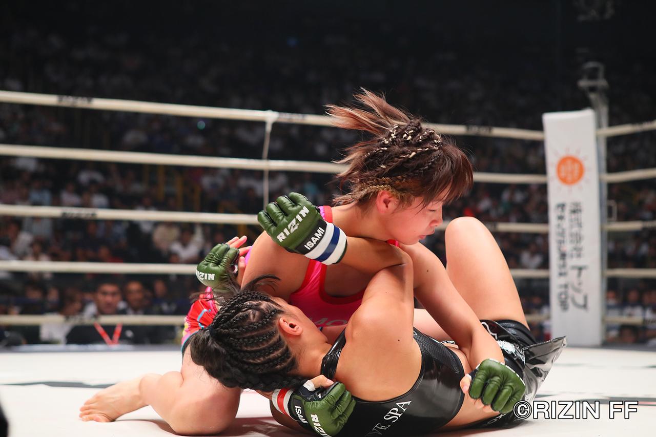 画像4: RENAのリベンジならず 浅倉カンナが判定で勝利!
