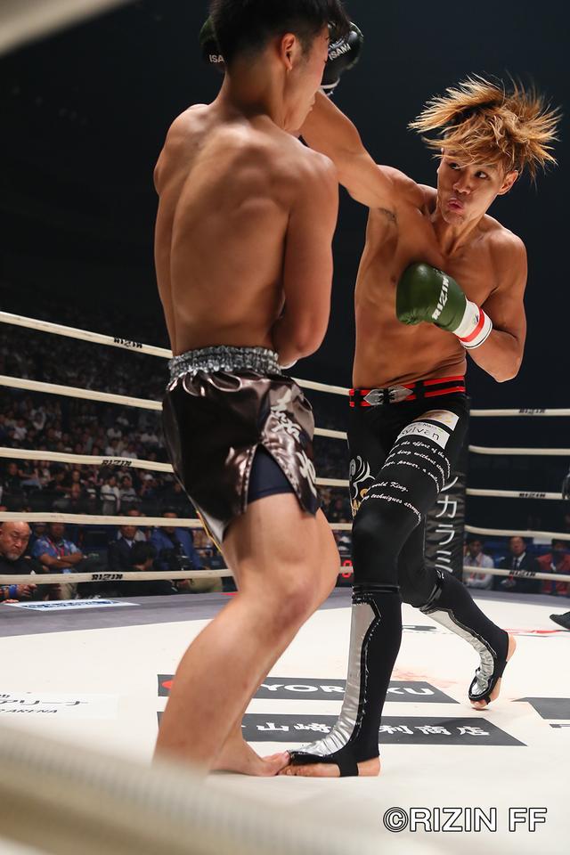 画像3: 【試合結果】RIZIN.11 第4試合 海人 vs. ウザ強ヨシヤ