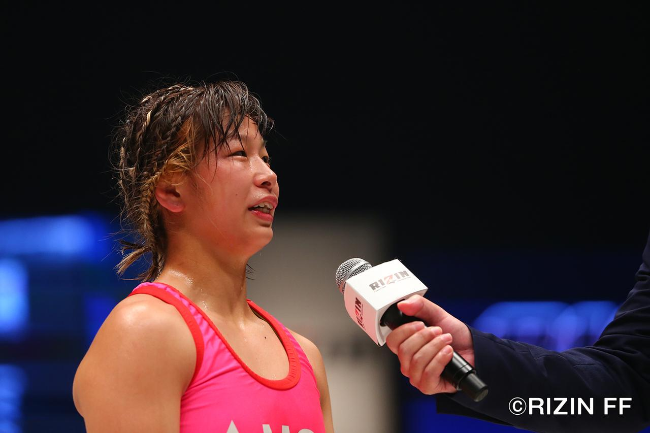 画像14: RENAのリベンジならず 浅倉カンナが判定で勝利!