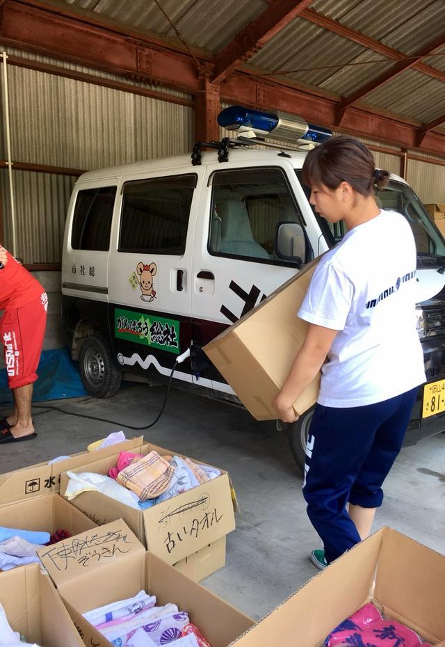 画像10: 浅倉カンナ選手が岡山県でボランティア活動