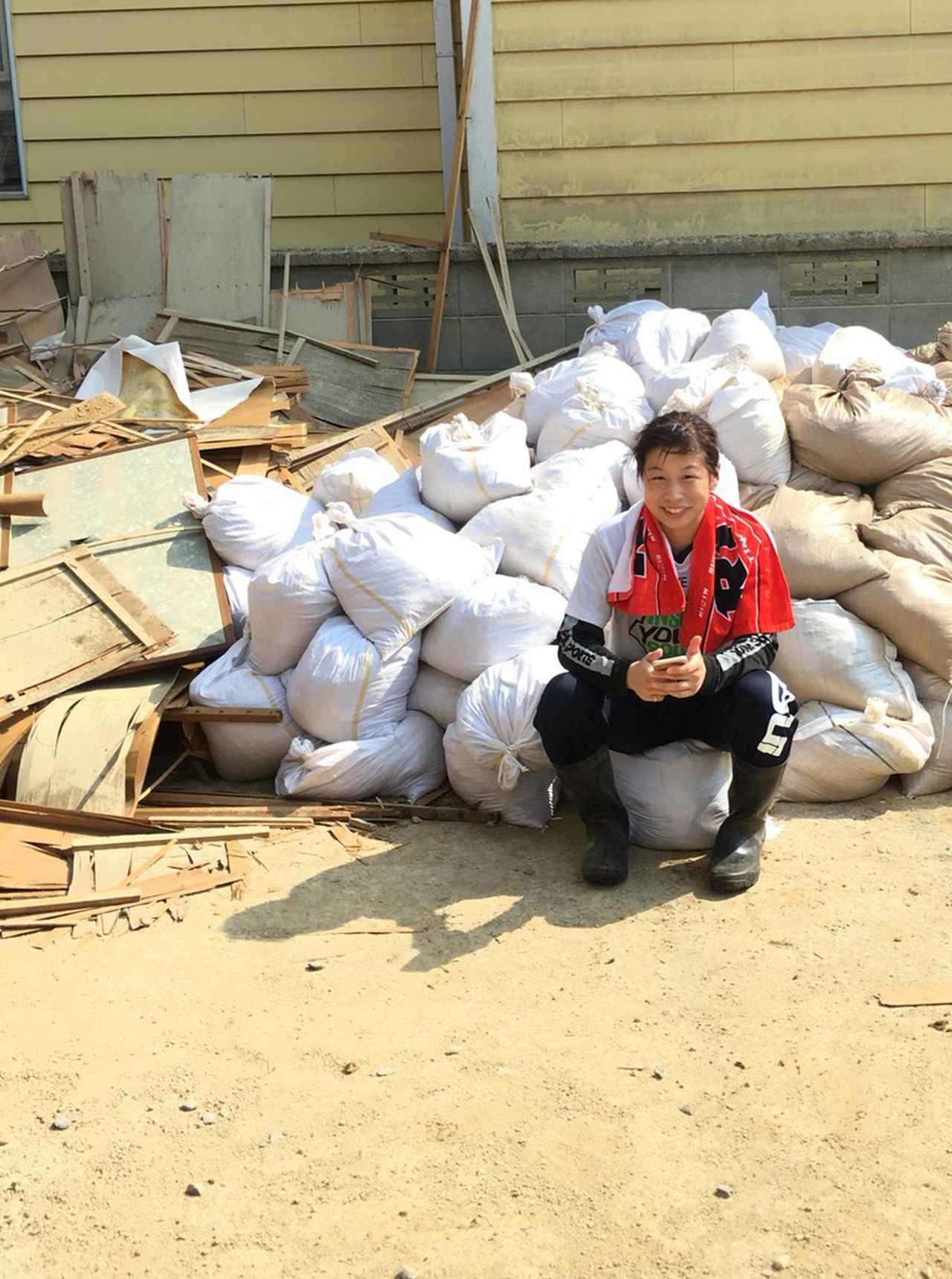 画像6: 浅倉カンナ選手が岡山県でボランティア活動