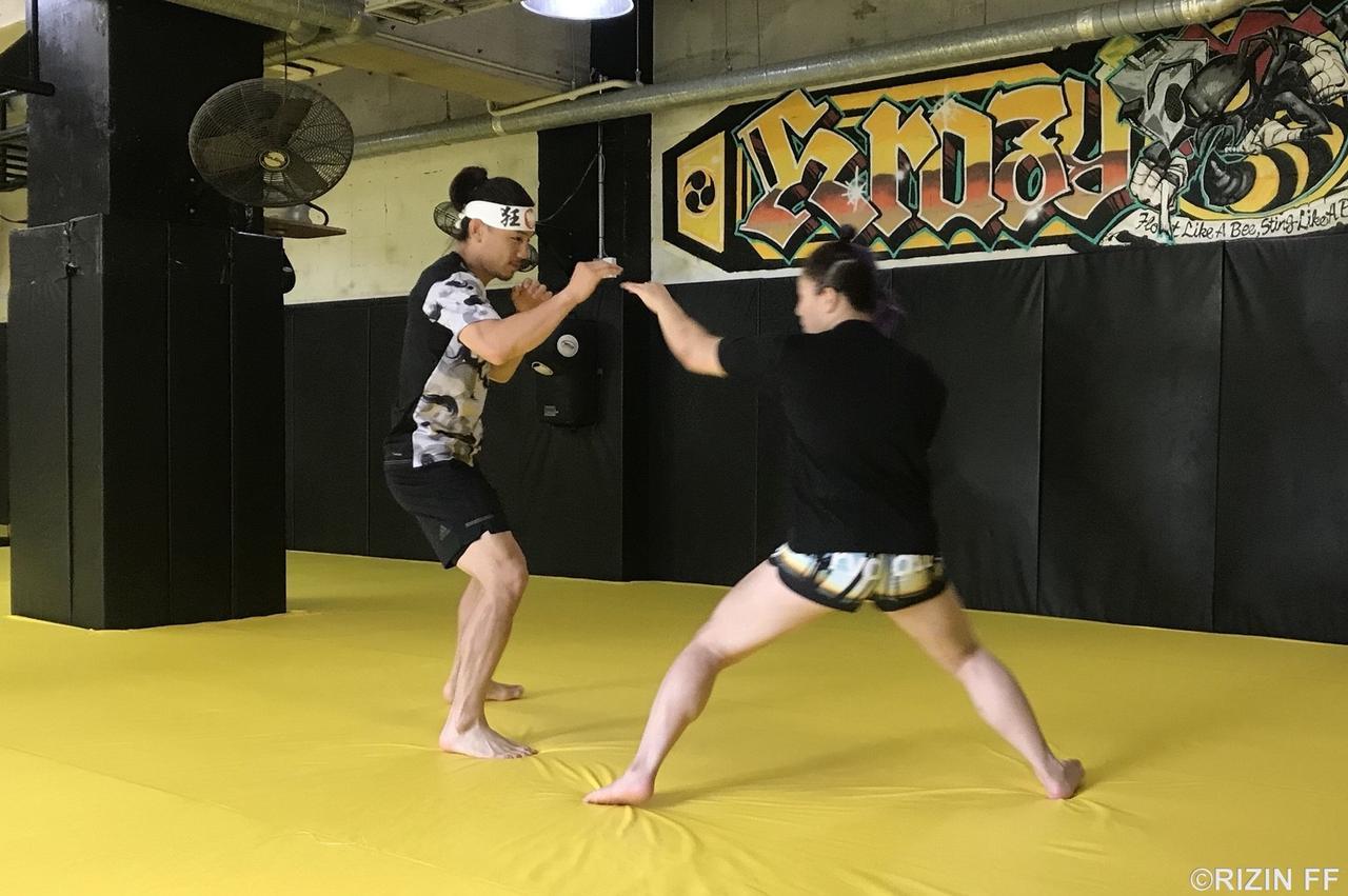 画像3: 【公開練習】8.12『RWEDDINGS presents RIZIN.12』 矢地祐介、KINGレイナが公開練習!!