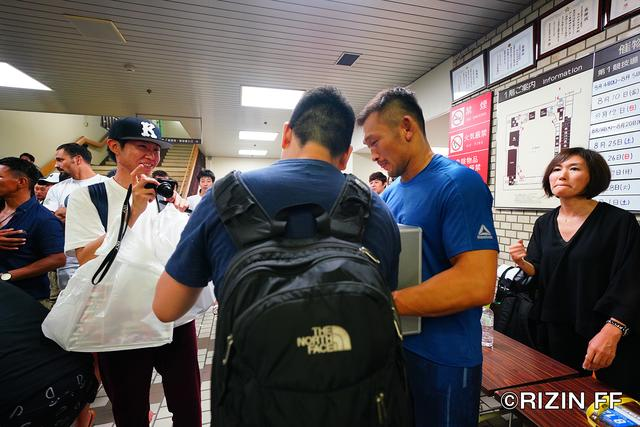 画像4: 「POWER TO JAPAN 〜格闘技の力を西日本へ〜」 『RIZIN.12』募金活動ご報告