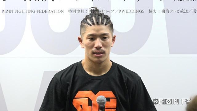 画像: 「今回の試合ではインパクトを残せていないので、RIZINキックトーナメントに参戦したいです」